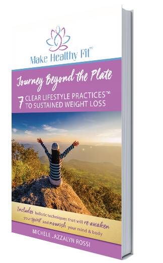 Cover of Journey Beyond the Plate by health and life coach Michele